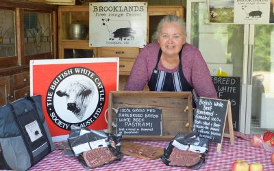 Brooklands Free Range Beef A Success
